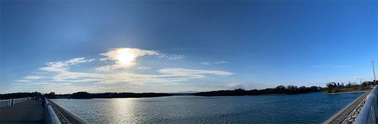 多摩湖(村山貯水池)